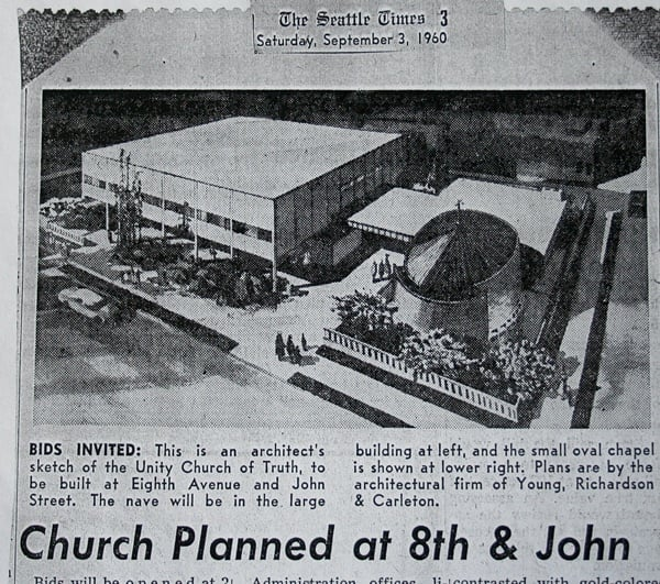 historic image of seattle unity church