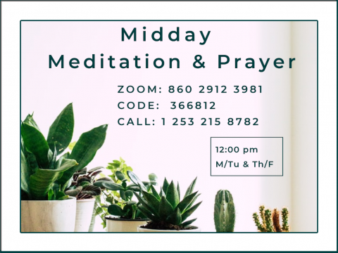 Midday Mediation & Prayer