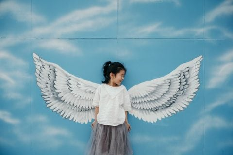 kid as angel