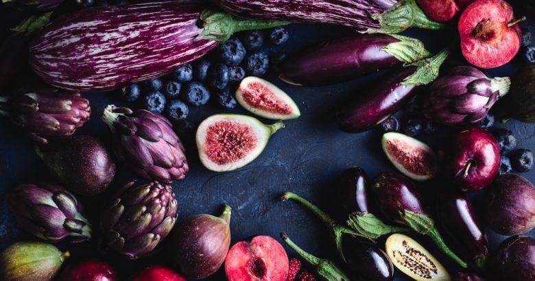 tray of lush fruit
