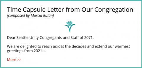 Letter from the Congregation